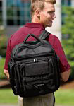 Backpack available with your company embroidered logo