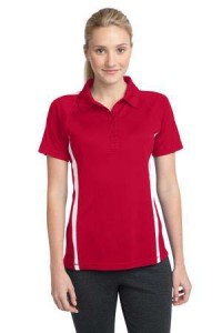 woman-red-polo