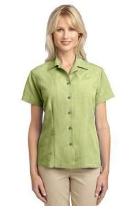 women-green-woven